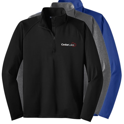 CL149<br>Men's Sport-Wick 1/4 Zip Stretch Fleece