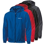 CL147<br>Mens Sport-Tek Hooded Raglan Jacket