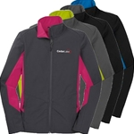 CL152<br>Ladies Core Colorblock Softshell Jacket