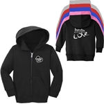 CL168<br>Toddler Full Zip Hooded Sweatshirt