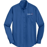 NEW!<br>CL181<br>Port Authority Mens Super Pro Twill Shirt