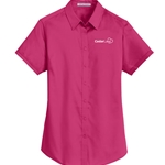 CL182<br>Port Authority Ladies Super Pro Twill Shirt