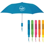 CL205<br>42&quot; Arc Neon Telescopic Folding Umbrella