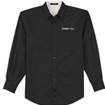 NEW!<br>CL186<br>Mens Easy Care Twill Shirt