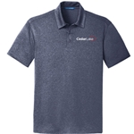 NEW!<br>CL190<br>Mens Trace Heather Polo