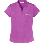 CL191<br>Ladies Trace Heather Polo