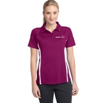 CL193<br>Ladies PosiCharge® Micro-Mesh Colorblock Polo
