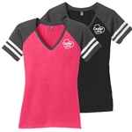 NEW!<br>CL216<br>Ladies Game V-Neck Tee