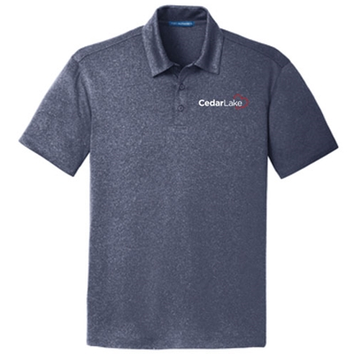 CL190<br>Mens Trace Heather Polo
