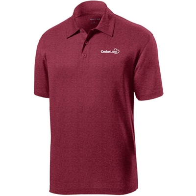 NEW!<br>CL222<br>Mens Heather Contender Polo
