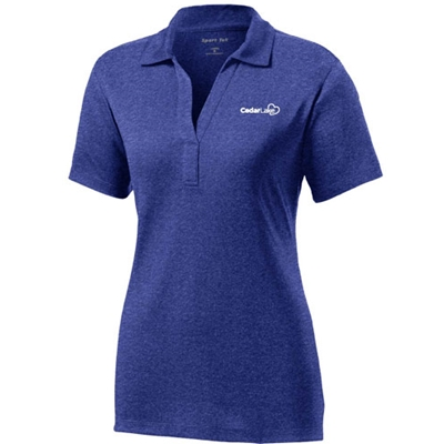 NEW!<br>CL223<br>Ladies Heather Contender Polo