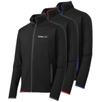 CL153<br>Mens Sport-Wick Contrast Full Zip Jacket