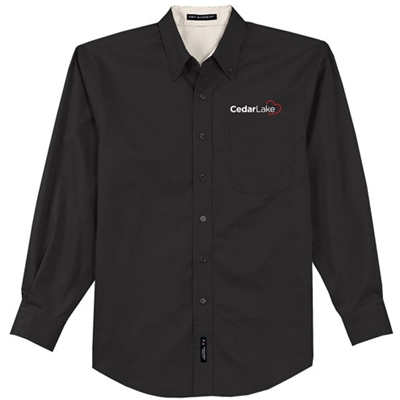 CL186<br>Mens Easy Care Twill Shirt